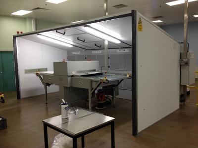 Absaugwand Airbench Vertex - Kabine groß